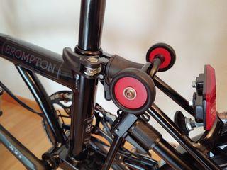 Tapones ruedas eazy wheel Brompton
