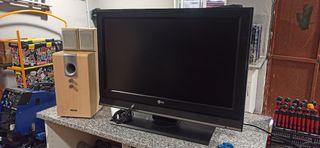"Vendo pack TV 32"" LCD y home cinema 2.1"