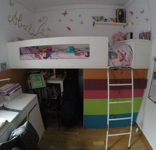 Habitacion infantil 2 camas
