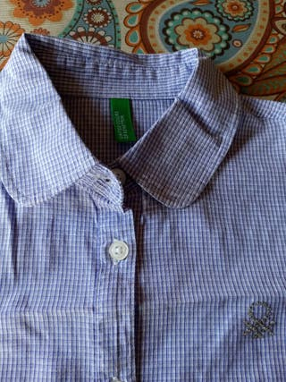 Camisa niña Benetton 6-7 años