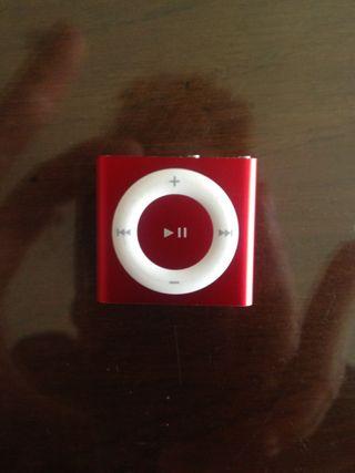 ipod shuffle nano rojo practicamente NUEVO