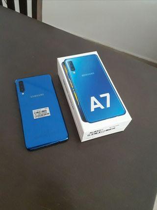 Samsung Galaxy A7 2018 azul 64gb