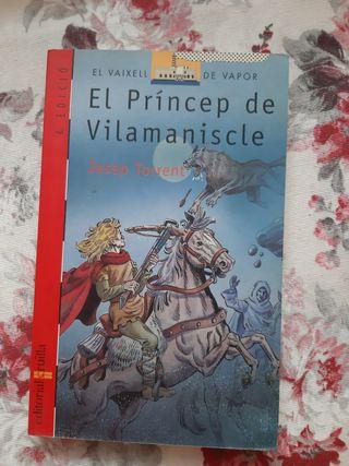 Libro juvenil en catalán.