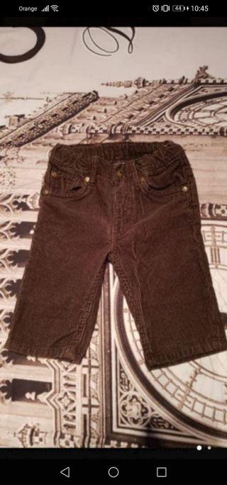pantalon pana h&m