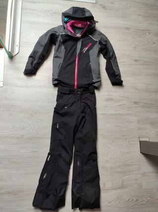 Equipación de esquí niña