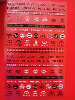 pegatinas de uñas de marcas /46