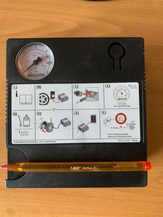 Compresor aire portatil para ruedas