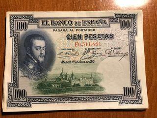 Billetes 25 Pesetas Republica Española