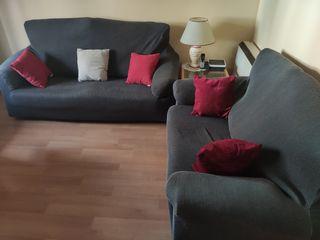 conjunto sofá 3 y 2 plazas