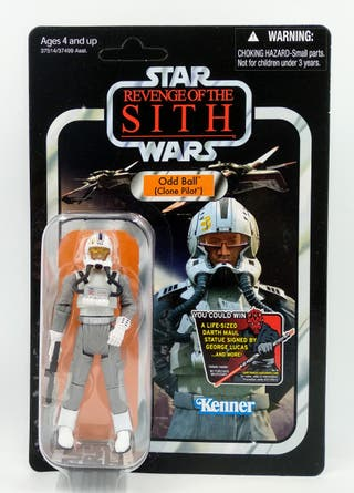 Star Wars Odd Ball Clone Pilot Vintage Collection