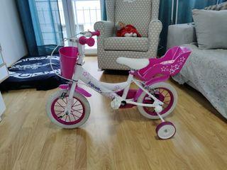 Bicicleta infantil niña Marca Juguettos