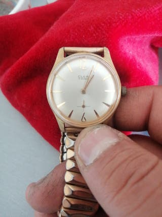 reloj cler 17 rubis vintage automático