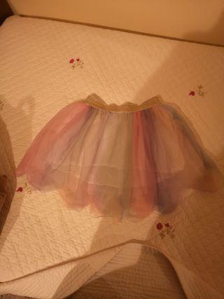 falda tul niña en perfecto estado talla 10