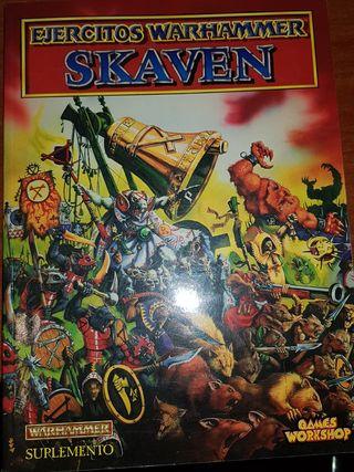 libro de coleccionista skaven warhammer fantasy