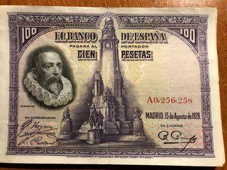Billetes 100 Pesetas Republica Española