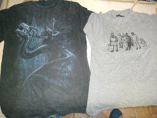 camiseta del rey brujo y psicópatas de friking