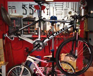 Caballete reparación bicicletas Lidl