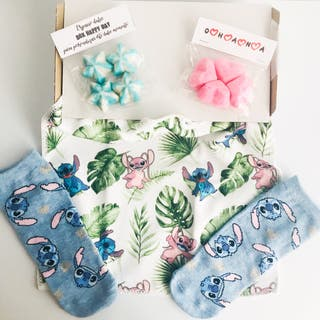 Caja regalo toalla Lilo & Stitch Disney