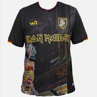 IRON MAIDEN Camiseta fútbol Somewhere in Time