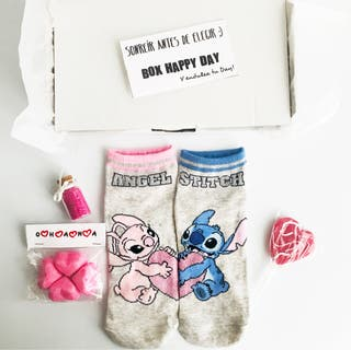 Caja regalo caja Lilo & Stitch Angel