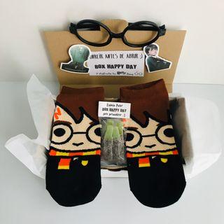Caja regalo calcetines y gafas Harry Potter