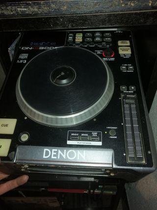 Reproductor Mezclador de CD