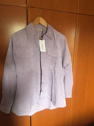 Camisa pana lila nueva