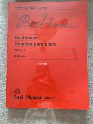 Beethoven Sonatas piano volumen 1