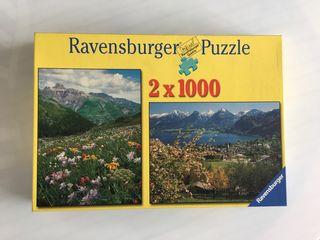 Puzzle Ravesnburger 2x1000piezas