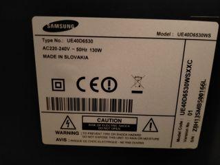 Tele 40 led Samsung ue40d6530wsxxc