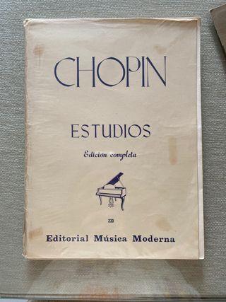 Chopin Estudios para piano