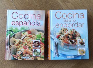 cocina española. cocina para no engordar. nuevos
