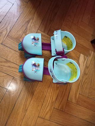 patines Frozen niña. regulables.24/26