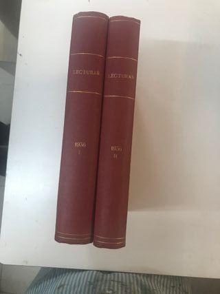 1936 LECTURAS REVISTA
