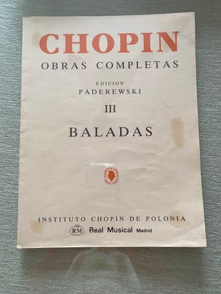 Chopin Baladas para piano