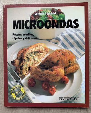 Libro de cocina: Cocinar con microondas