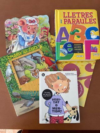 Pack 5 libros infantiles
