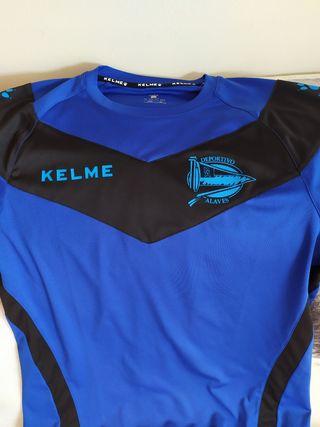 Camiseta de futbol del deportivo Alavés