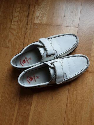 zapatos de niño para comunion