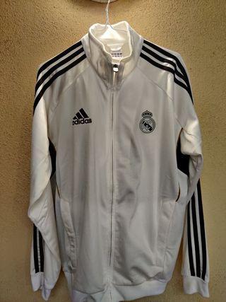 Chándal Real Madrid Adidas Blanco/Negro/Dorado M