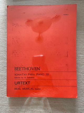 Beethoven Sonatas piano volumen 3
