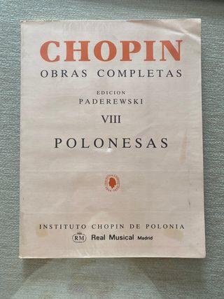 Chopin Polonesas para piano