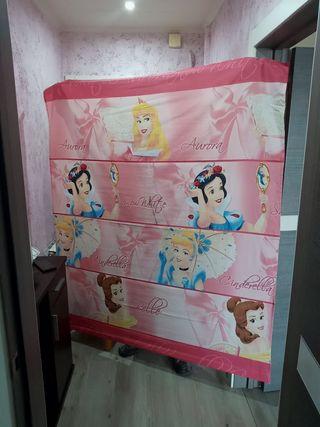 cortina princesas estor