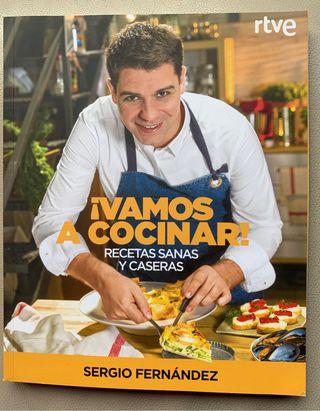 Libro de cocina: Vamos a cocinar.