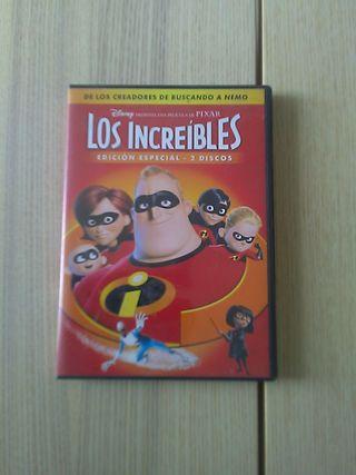 DVD Los increíbles. Edición especial.