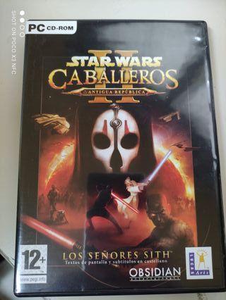 """""""Star Wars caballeros de la antigua república II"""""""