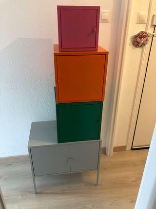 Armarios metal LIXHULT IKEA