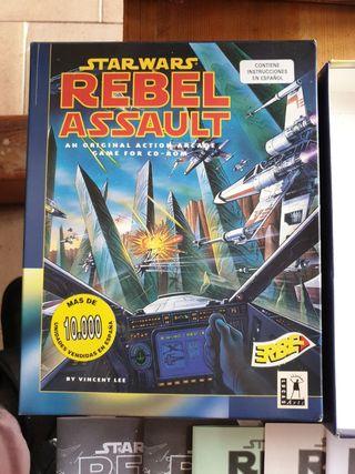 Juego PC Star Washington Rebel Assault en caja