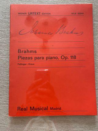 Brahms Piezas para piano Op. 118