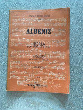 Albéniz. Iberia para piano Volumen 1